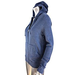 Vince Jackets & Coats - Vince Blue Cotton Jacket with Hood Size Small